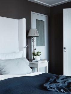 Hus Voksenkollen — Corniche Interior Design Cosy, Master Bedroom, Sweet Home, Interior Design, Luxury, Romantic Bedrooms, Furniture, Home Decor, Interiors