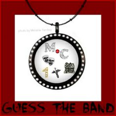 Having some fun with Origami Owl lockets and charms. Can you guess the band this locket represents? Home Sweet Home. Dr Feelgood. Public Enemy #1. Origami Owl meets music bands! Motley Crue!