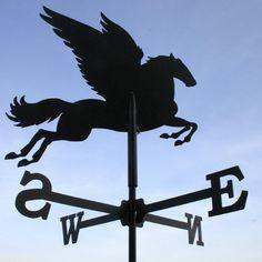 Pegasus weathervane. (wetterhahn.biz)
