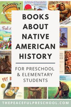 Native American History Books for Kids