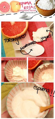 Espuma rosa limpiadora facial www.gloss-boudoir.com