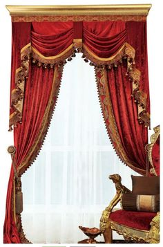 Curtains Living, Drapes Curtains, Drapery, Luxury Curtains, Traditional Curtains, Velvet Drapes, Custom Drapes, Basement Remodeling, Basement Plans