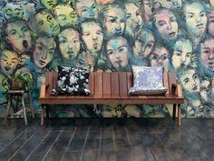 Fotomurale Berlino wall art #carte #da #parati #wallpapers #berlin #graffiti #street #art