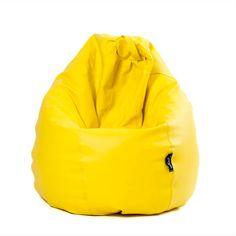 Puf Pera XL Amarillo
