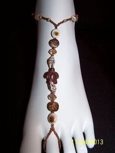 Howlite turtle and seashell with wood beads by GreenBridalBoutique, $35.00