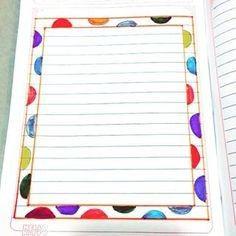 Front Page Design, Page Borders Design, Border Design, File Decoration Ideas, Page Decoration, Decorations, Paper Art Design, Notebook Cover Design, Bullet Journal Lettering Ideas