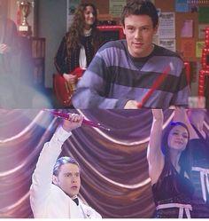 City of angles: glee Glee Rachel And Finn, Lea And Cory, Glee Puck, Glee Cory Monteith, Tears In Heaven, Finn Hudson, Glee Cast, Chris Colfer, Sarah Michelle Gellar