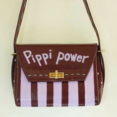 """Pippi power"" #Upcycle-tasker #atelierBAGhuset  #Lotte Holm"