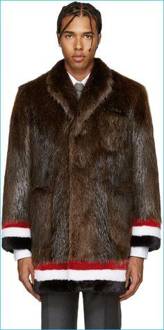 Thom Browne Fur Coat