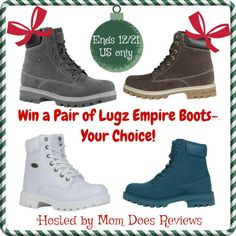 Lugz Empire Boots Giveaway!