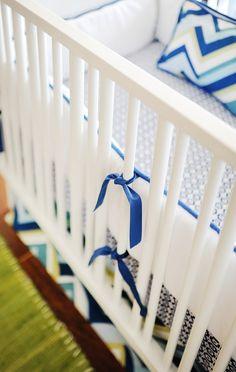 Blue Crib Bedding,