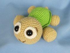 Häkelanleitung - Amigurumi Baby Schildkröte Emma https://www.crazypatterns.net/de/items/7663/baby-schildkroete-emma