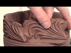 How to Make a Jar With Press-Molded Decorative Strips and Wheel Thrown Parts | BLAIR CLEMO - YouTube