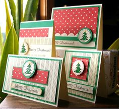 Christmas Card Set by Michelle