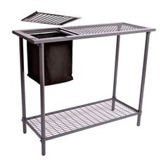 Garden Utility/Potting Table with Mesh Top