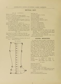 "What We Did When The Power Went Out (Sewing In Walden): ""Leggins"" (gaiters) and riding breeches (1897)"