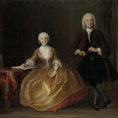 """""""A Couple Making Music,"""" Cornelis Troost, 1743; Rijksmuseum SK-A-4115"""