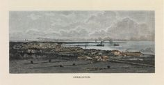 View over Geraldton showing jetty, ca 1886 http://encore.slwa.wa.gov.au/iii/encore/record/C__Rb2801193?lang=eng