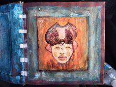 Roneld Lores, mask sketch