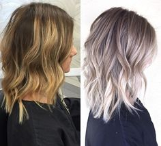 You are in the right place about ash blonde balayage wig Here we offer you the most beautiful pictur Ombré Hair, Curls Hair, Brown Blonde Hair, Ash Blonde Balayage Short, Pinterest Hair, Hair Color Balayage, Silver Hair, Pretty Hairstyles, Hair Looks