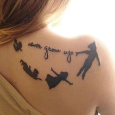 Peter Pan tattoo.... want this so much