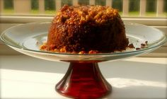 When I think of steamed pudding I think of cold winter days or Christmas and lots of heavy fruit. This steamed pudding is much lighter than a traditional steamed pudding and incredibly yummy. Carrot Pudding, Gluten Free Recipes, Free Food, Carrots, Fruit, Puddings, Cake, Real Life, Desserts