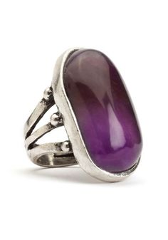 Lucky Brand Amethyst Ring