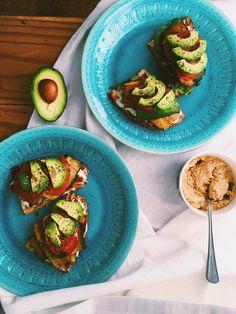 Luscious veggie sandwiches