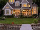 Cape Cod, Shingle style lake home - traditional - exterior - detroit - by VanBrouck & Associates, Inc.