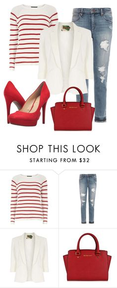 """""""Untitled #68"""" by everydaytalks on Polyvore featuring Dorothy Perkins, Joe's Jeans, Jolie Moi, MICHAEL Michael Kors and Jessica Simpson"""