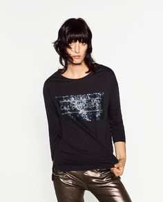 ZARA - WOMAN - SEQUIN TOP