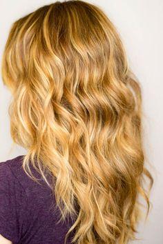 Blonde Medium Length Hairstyles for Wavy Hair | 2014 Medium ...