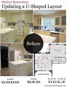 U Shaped Kitchen Remodel kitchen renovation: updating a u-shaped layout | renaissance