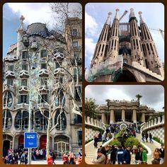 Gaudi's work in Barcelona