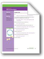Adds Concrete Objects (Math Assessment PreK). Download it at Examville.com - The Education Marketplace. #scholastic #kidsbooks @Karen Echols #teachers #teaching #elementaryschools #teachercreated #ebooks #books #education #classrooms #commoncore #examville