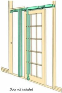 A variety of Pocket door kits for timber sliding doors. Allow doors to slide in to walls. These kits are ideal for making space available in small rooms. Sliding Door Room Dividers, Room Divider Doors, Sliding Door Hardware, Timber Sliding Doors, Timber Door, Barn Doors, Pocket Door Frame, Pocket Doors, Door Kits