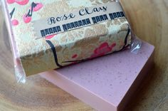 Rose Clay Guava Coconut Milk Soap Purifying by MichelleRuffDesigns $5.50 **Use Coupon Code PIN15 for 15% off any order of $25 or more** #etsygift #Christmas #stockingstuffer #giftsforwomen #mothersday #beauty