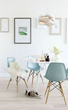 Move over, mint green! Everywhere I turn lately, I'm seeing icy, powder blue – and I'm loving it! We've been using the color a lot in some of the client installs we've been working on the past couple