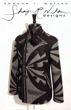 coat, Shayne Watson Designs (Diné)