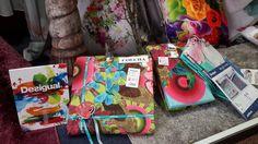 Crea un colorido único en tu dormitorio con las colecciones de colchas y sábanas de #Desigual .