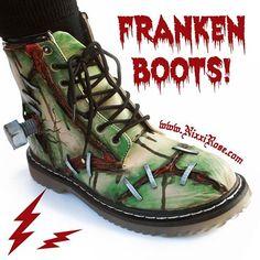 Frankenboots. I love these.