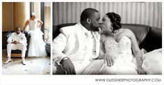 Chris and Leah's spring wedding at the Hilton University Place in Charlotte, NC | Photo credit: Glessner Photography | Charlotte Wedding Photographer | bride and groom poses