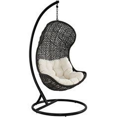 haven outdoor hanging chair (€680) ❤ liked on Polyvore featuring home, outdoors, patio furniture, hammocks & swings, furniture, chair, house, interior, outdoor lounge chairs and outdoor hanging chair