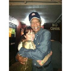 Special thanks to Morgan Freeman & Robert De Niro for stopping by the Clermont Lounge last night! The Beautiful South, Morgan Freeman, Just Peachy, Have A Laugh, Georgia, How To Apply, God, Humor, Baseball Cards