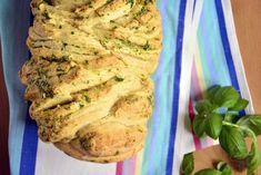 ŚNIADANIA, WYPIEKI Ziołowy chlebek odrywany