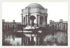 Palace Of Fine Arts San Francisco CA 12x18 Giclee on canvas