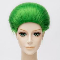 Fashion Green Synthetic Short Capless Straight Suicide Squad Joker Cosplay Wig #>=#>=#>=#>=#> Click on the pin to check out discount price, color, size, shipping, etc. Save and like it!