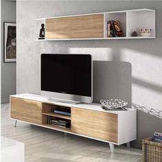 Modern tv wall unit for bedroom modern wall modern wall unit designs modular mesa para rack . Wall Unit Designs, Tv Wall Design, Tv Unit Design, House Design, Tv Furniture, Furniture Design, Modern Furniture, Tv Wanddekor, Modern Tv Wall Units