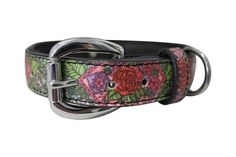 The Paws Mahal - inspired Jessica Fang Garden of Eden Inked Leather Dog Collar, $65.99 (http://www.thepawsmahal.com/inspired-jessica-fang-garden-of-eden-inked-leather-dog-collar/)