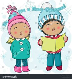 New Post christmas carolers clipart